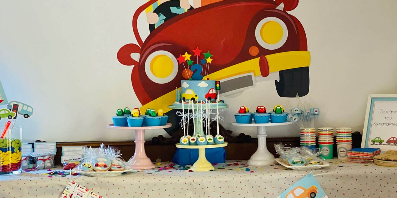 BABY CAR CONSTANTINOS 2ND BIRTHDAY PARTY Sparkling Day