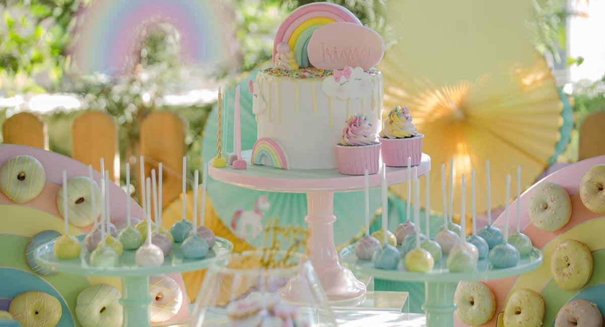 Iriana's 4th birthday party! Sparkling Day