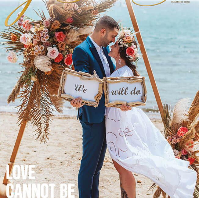 Μαρια & Βασιλης: Το αληθινο ζευγαρι που φωτογραφηθηκε για το εξωφυλλο του Yes I Do… Sparkling Day