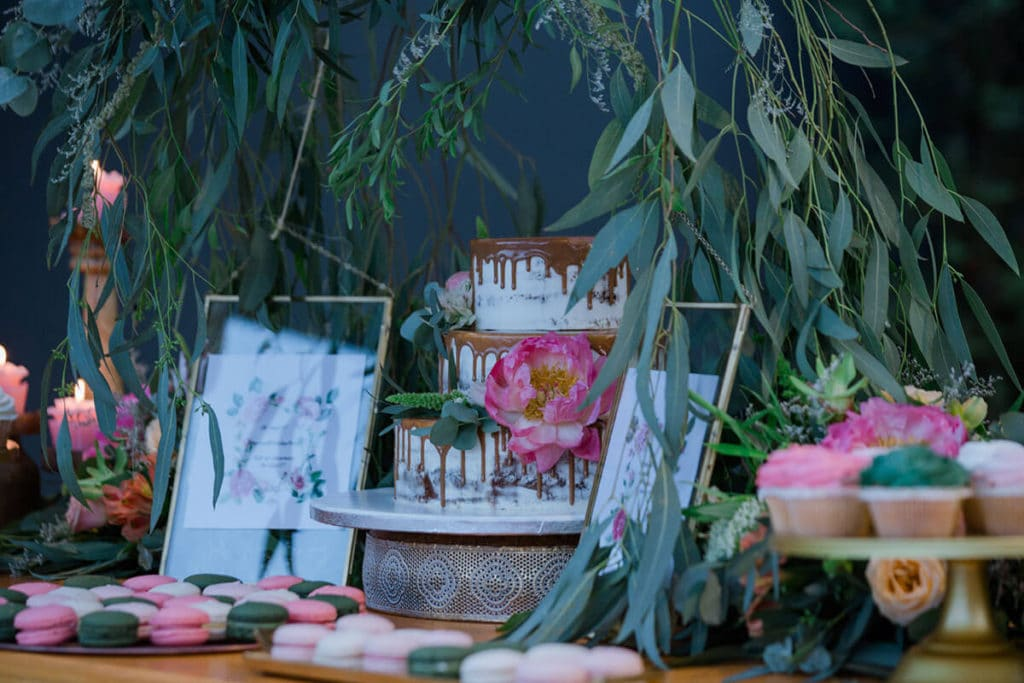 My floral birthday party Sparkling Day