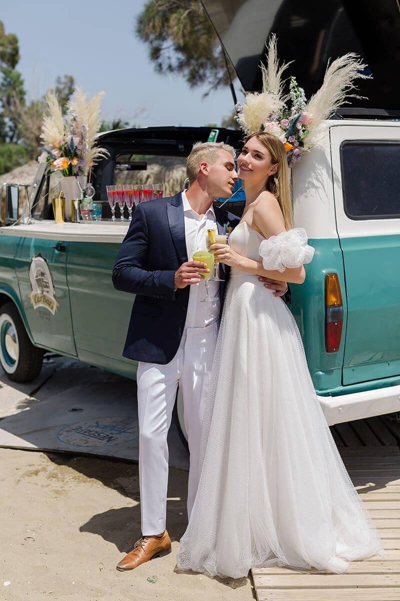 Summer Romantic Wedding Sparkling Day